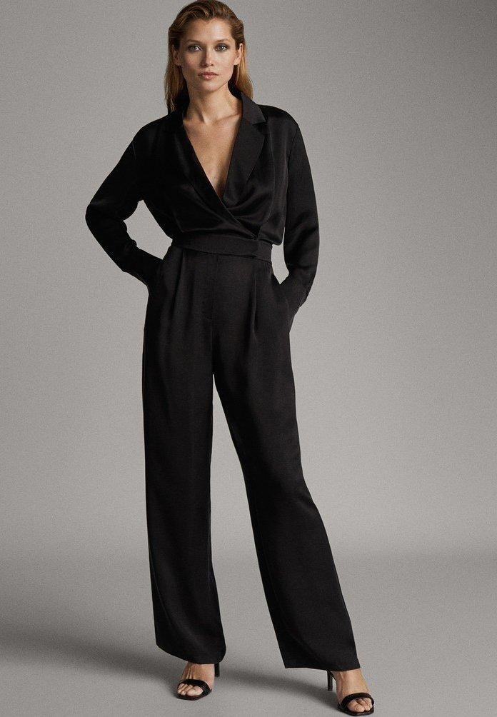 Massimo Dutti - Jumpsuit - black