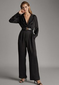 Massimo Dutti - Jumpsuit - black - 1