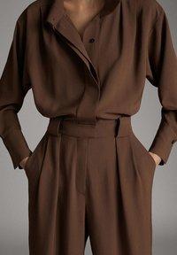 Massimo Dutti - 06608528 - Jumpsuit - brown - 3