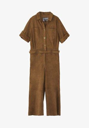 Overall / Jumpsuit /Buksedragter - khaki