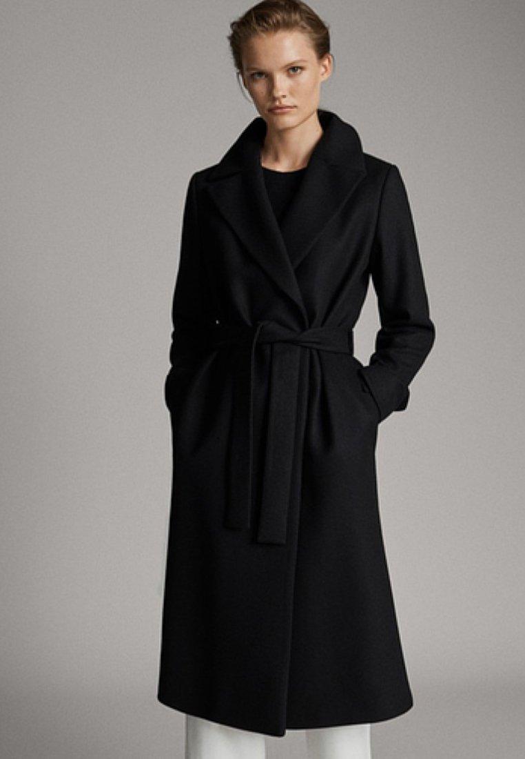 Massimo Dutti - Manteau classique - black