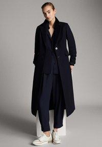 Massimo Dutti - Classic coat - dark blue - 0
