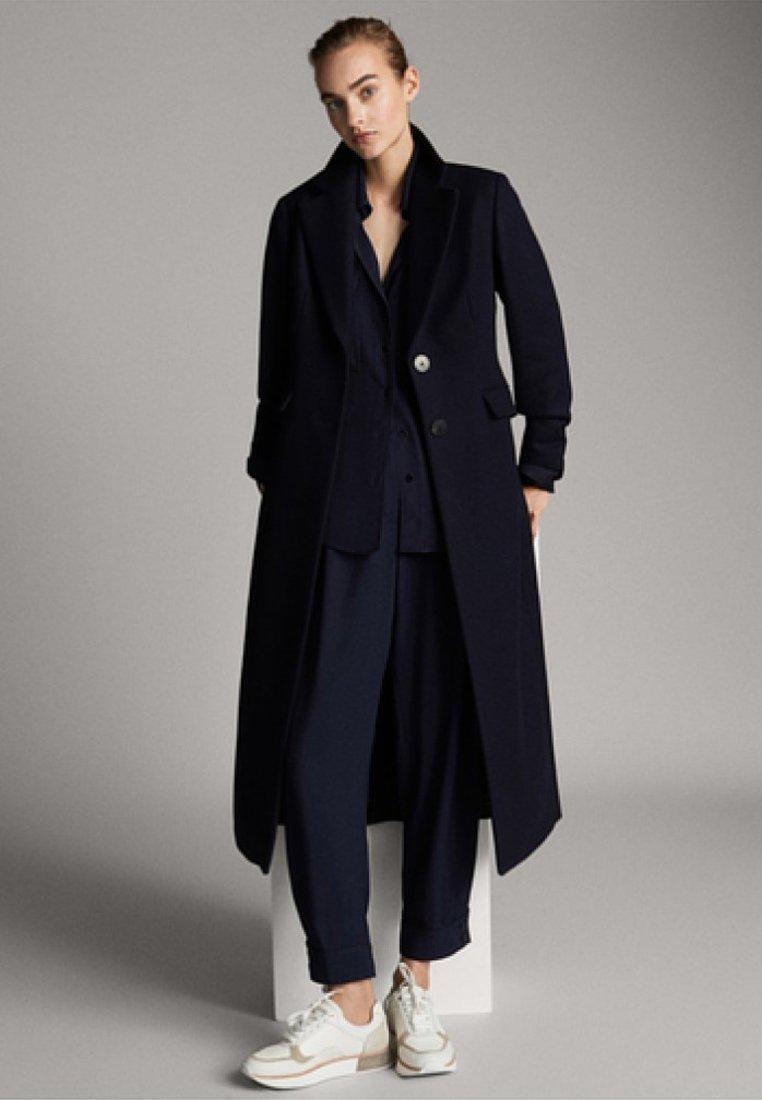 Massimo Dutti - Wollmantel/klassischer Mantel - dark blue