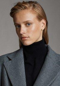 Massimo Dutti - Classic coat - dark grey - 3