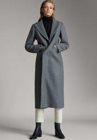 Massimo Dutti - Classic coat - dark grey - 0