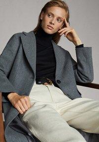 Massimo Dutti - Classic coat - dark grey - 6