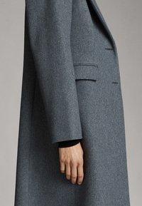 Massimo Dutti - Classic coat - dark grey - 5