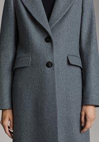Massimo Dutti - Classic coat - dark grey - 4