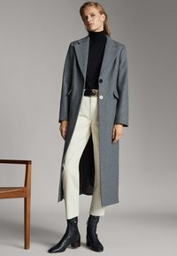 Massimo Dutti - Classic coat - dark grey - 1