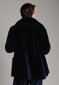 Massimo Dutti - Leather jacket - blue - 2