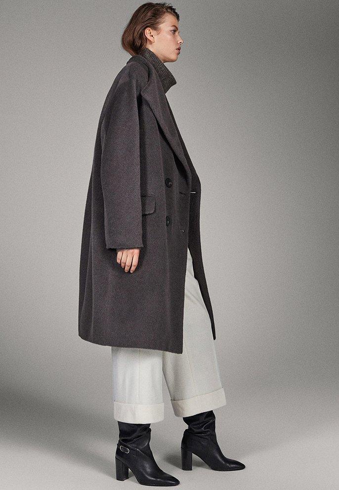 Massimo Dutti - CAMPAIGN COLLECTION - Classic coat - grey