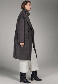 Massimo Dutti - CAMPAIGN COLLECTION - Manteau classique - grey - 0