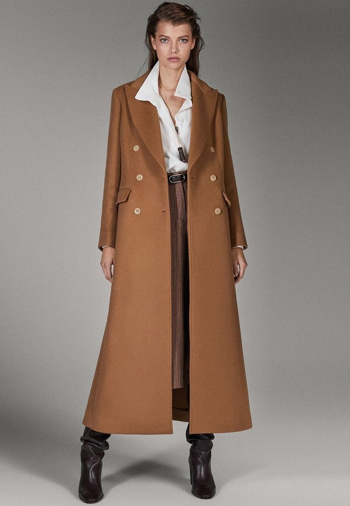 Massimo Dutti - CAMPAIGN COLLECTION - Classic coat - brown