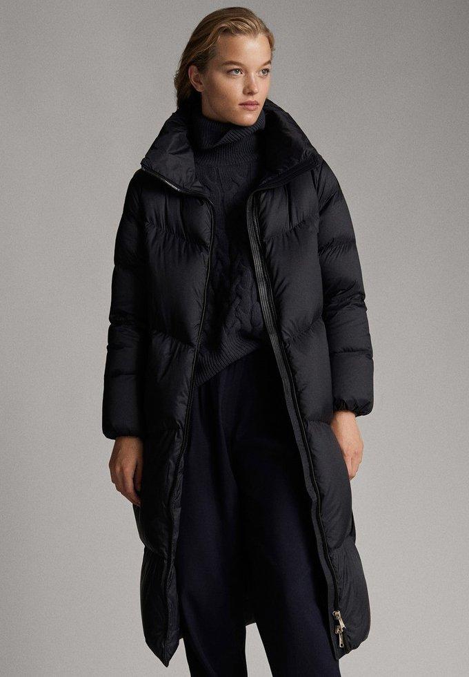 Massimo Dutti - Down coat - black