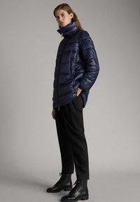 Massimo Dutti - Cappotto invernale - dark blue - 1