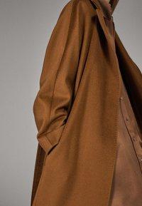 Massimo Dutti - Classic coat - brown - 5