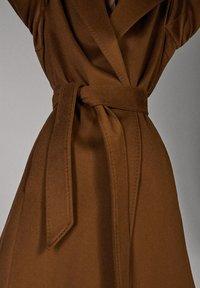 Massimo Dutti - Classic coat - brown - 6