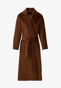 Massimo Dutti - Classic coat - brown - 7