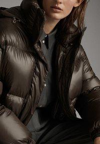 Massimo Dutti - Down coat - brown - 5