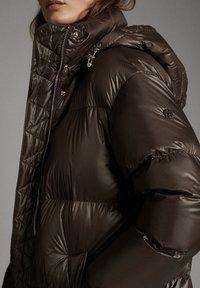 Massimo Dutti - Down coat - brown - 4