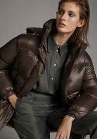 Massimo Dutti - Down coat - brown - 3