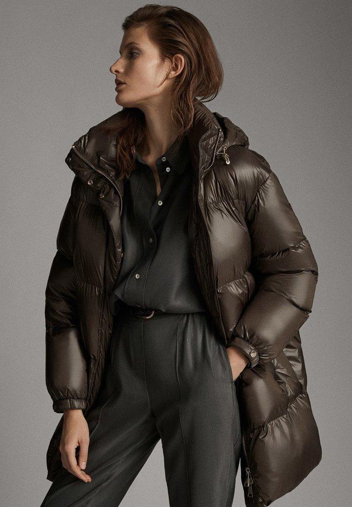 Massimo Dutti - Down coat - brown