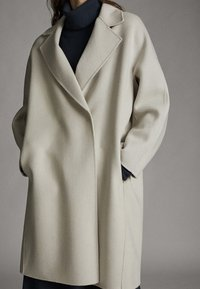 Massimo Dutti - Classic coat - light grey - 3