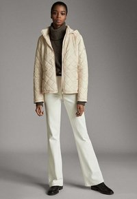 Massimo Dutti - MIT ABNEHMBARER KAPUZE - Winter jacket - beige - 1