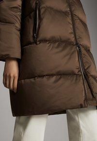 Massimo Dutti - GESTEPPTE DAUNEN-BOMBERJACKE 06715900 - Winter coat - brown - 6