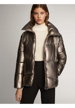 MIT STEPPNÄHTEN - Winter jacket - silver