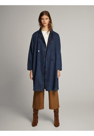 TRENCH-JACKE AUS LYOCELL 06722722 - Trenchcoat - dark blue