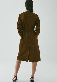 Massimo Dutti - Trench - brown - 1