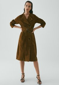 Massimo Dutti - Trench - brown - 0