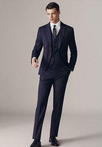 Massimo Dutti - Suit trousers - dark blue - 1