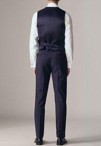 Massimo Dutti - Suit trousers - dark blue - 2