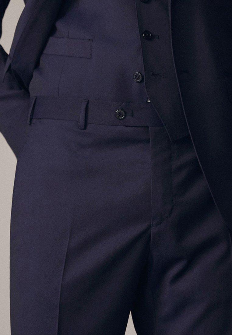 Massimo Dutti Spodnie garniturowe - dark blue