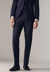 Massimo Dutti - Suit trousers - dark blue - 0