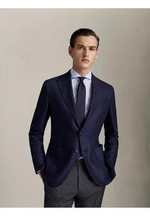 TWILL-BLAZER AUS WOLLE, KASCHMIR UND SEIDE IM SLIM-FIT 02048334 - Suit jacket - blue