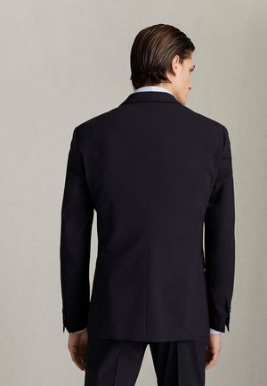 MARINEBLAUER SLIM-FIT-BLAZER AUS WOLLE 02001320 - Blazer jacket - blue
