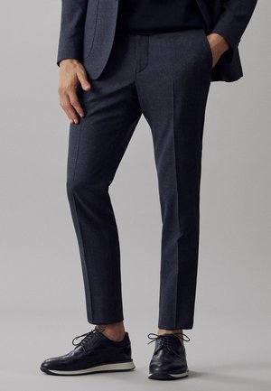 MIT HAHNE - Suit trousers - blue
