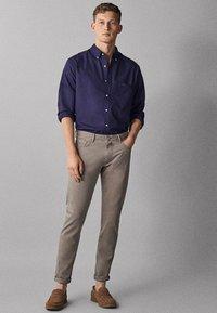 Massimo Dutti - OXFORD - Shirt - dark blue - 1