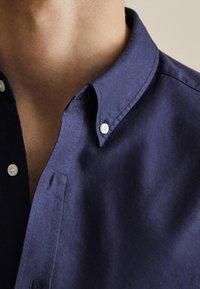 Massimo Dutti - OXFORD - Shirt - dark blue - 5