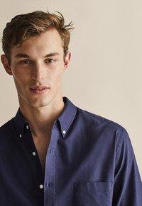 Massimo Dutti - OXFORD - Shirt - dark blue - 4