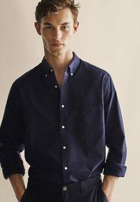 Massimo Dutti - OXFORD - Shirt - dark blue - 0