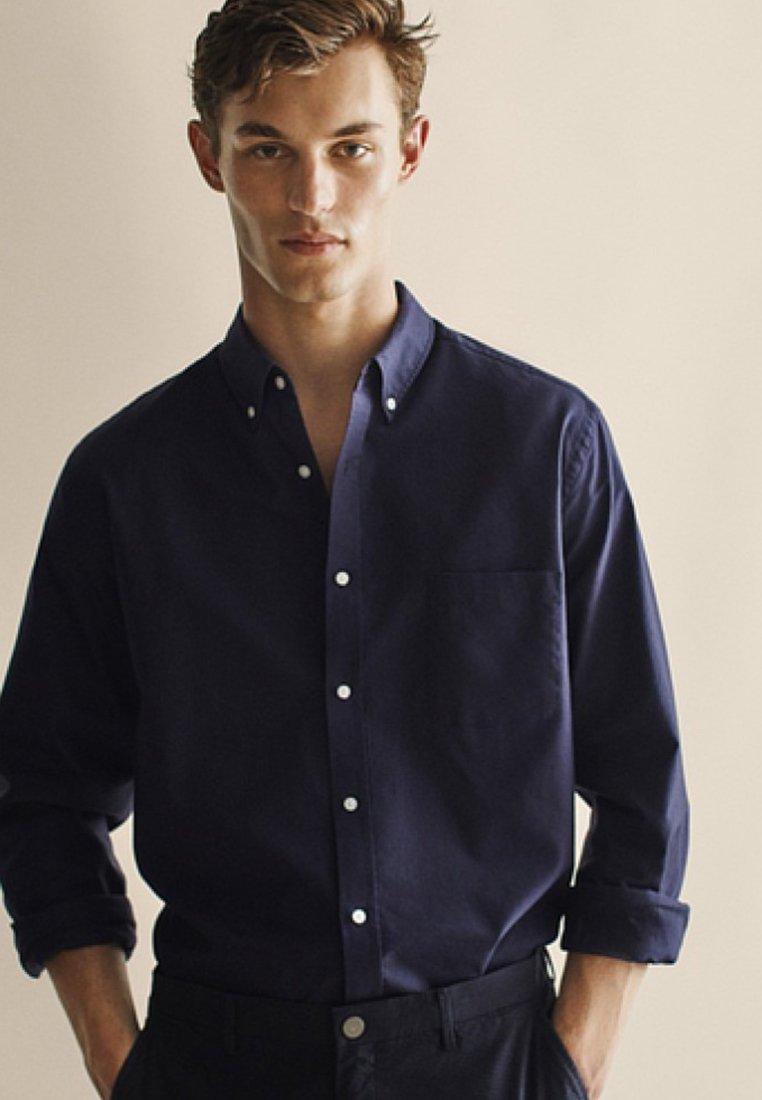 Massimo Dutti - OXFORD - Shirt - dark blue