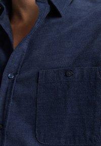 Massimo Dutti - MIT TASCHEN - Koszula - blue - 5