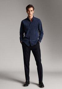 Massimo Dutti - MIT TASCHEN - Koszula - blue - 1