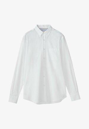 MIT STRUKTURMUSTER - Shirt - white