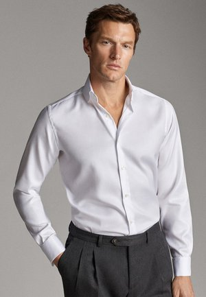 TAILORED FIT - Camicia elegante - white