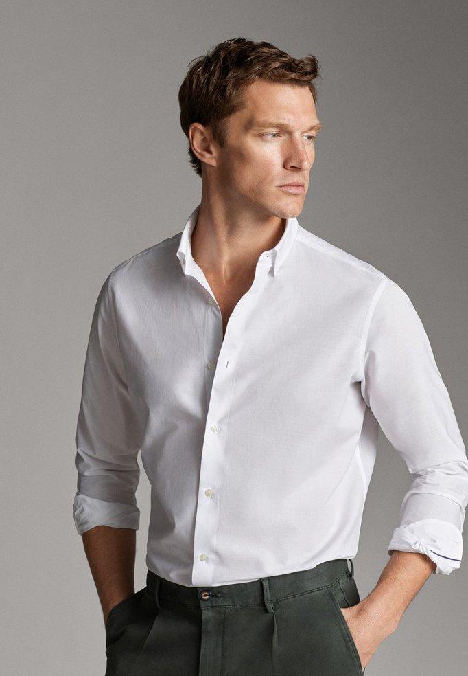 Massimo Dutti - 00108125 - Skjorta - white